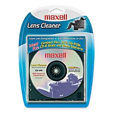 Maxell CD 340 CD Lens Cleaner