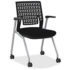 Mayline Thesis Flex Back Stackable Chairs