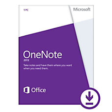 Microsoft OneNote 2013 3264 bit License