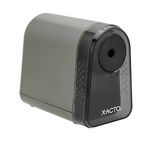 X-Acto® Mighty Mite® Electric Pencil Sharpener, Mineral Green
