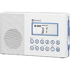 Sangean FM AM Bluetooth Waterproof Radio