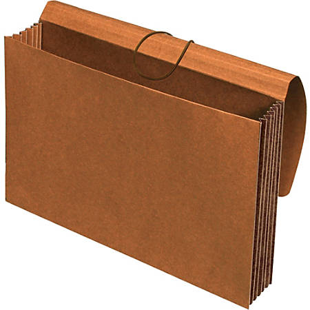 """Pendaflex Extra Wide Tyvek Wallets - Legal - 10"""" x 15 3/8"""", 8 1/2"""" x 14"""" Sheet Size - 1200 Sheet Capacity - 5 1/4"""" Expansion - Top Tab Location - 11 pt. Folder Thickness - Redrope - Brown - Recycled - 1 Each"""