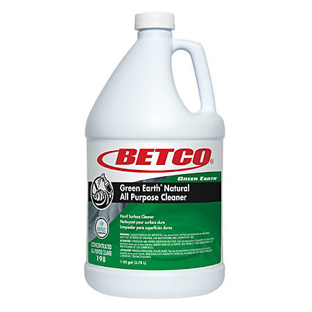 Betco® Green Earth® Natural All-Purpose Cleaner, Emerging Storm Scent, 136 Oz, Case Of 4