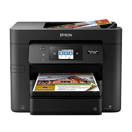 Epson® WorkForce® Pro WF-4730 Wireless All-In-One Printer, Copier, Scanner, Fax