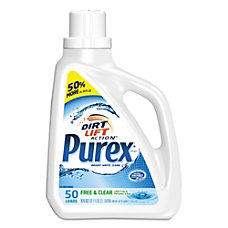 Purex Free And Clear Unscented Liquid