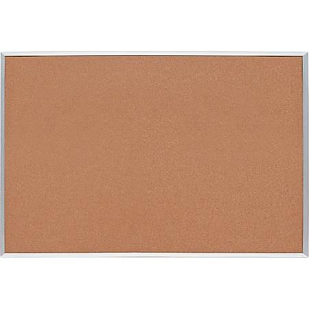 "Sparco Basic Aluminum Frame Cork Board, 72"" x 48"""