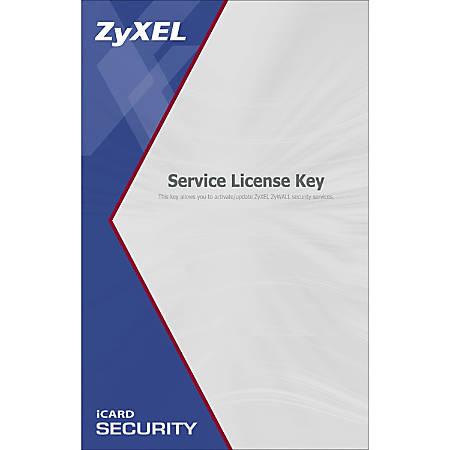 ZyXEL iCard Kaspersky Anti-Virus 2 Years for USG40 / USG40-NB