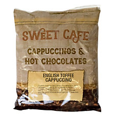 Sweet Caf Cappuccino English Toffee 32