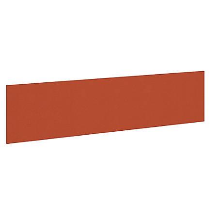 "Bush Business Furniture Studio C 72""W Tack Board, Tangerine, Premium Installation"