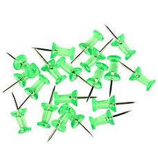 Fashion Pushpins 38 Translucent Green Pack