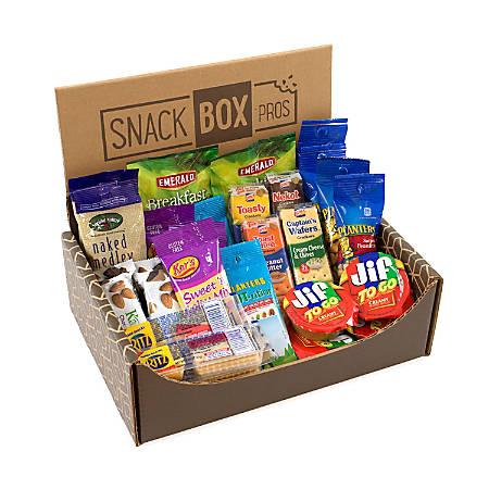 Snack Box Pros On-The-Go Snack Box, 3.21 Lb