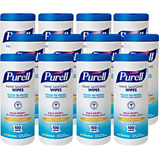 Purell Textured Sanitizing Wipes Fresh Citrus