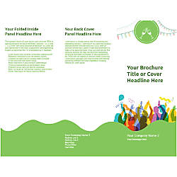 Customizable Trifold Brochure Party Time