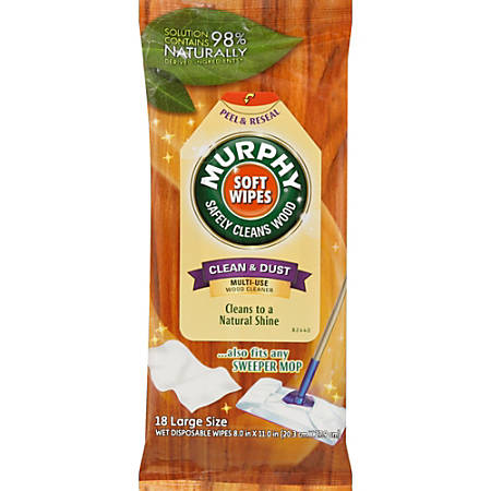 Murphy's Oil Soft Wipes, Pack Of 18