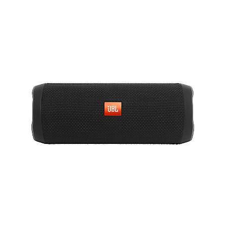 JBL Flip 4 Waterproof JBLFLIP4BLKAM Wireless Bluetooth® Speaker, Black