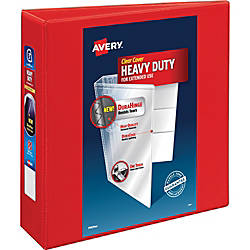 Avery Heavy Duty View Binders with