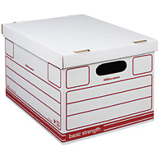 Office Depot Brand Economy Storage Boxes