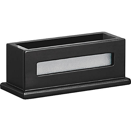 Victor® Midnight Black Collection Business Card Holder