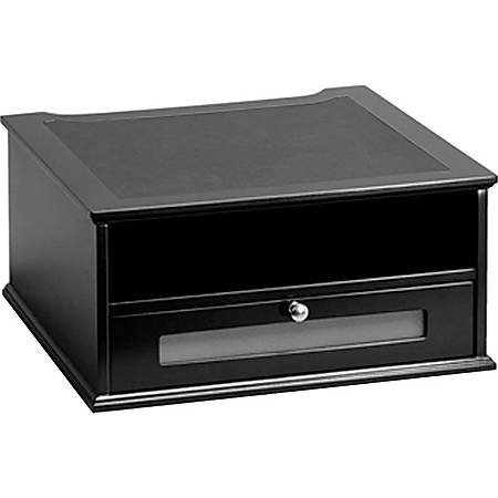 computer leongstore with wooden end desktop riser i sale am cabinet monitor table drawer drawers htm woode diy