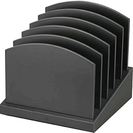 Victor® Midnight Black Collection Incline File Sorter