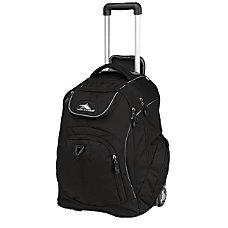 High Sierra Powerglide Wheeled Backpack Black