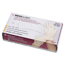 Mediguard Powder Free Vinyl Synthetic Exam Gloves Small
