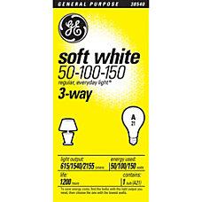 GE Soft White Light Bulb 3
