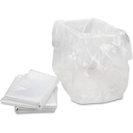 "HSM® of America Shredder Bags, 13"" x 10"" x 24"", Clear, Box Of 100"