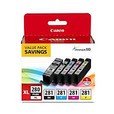 Canon PGI 280XLCLI 281 High Yield