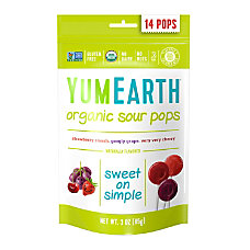 Yummy Earth Organic Sour Lollipops 3