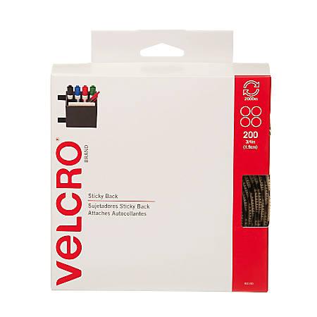 "VELCRO® Brand Dots, 3/4"", Beige, Roll Of 200"