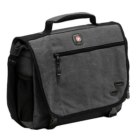 b14ff53e4 Wenger® Zinc Cotton Computer Briefcase For 14.1