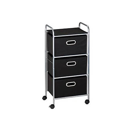 Honey-Can-Do CRT-02184 3-Drawer Rolling Fabric Cart