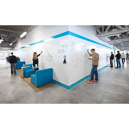 "IdeaPaint™ CREATE WHITE Dry-Erase Paint, 60"" x 60"""