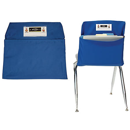 "Seat Sack™ Organizers, Standard, 14"", Blue, Grades 1-3, Pack Of 2"