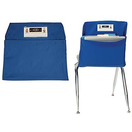 "Seat Sack™ Organizers, Standard, 14"", Blue, Grades 1-3, Pack Of 2"