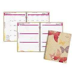 At A Glance Watercolors WeeklyMonthly Planner