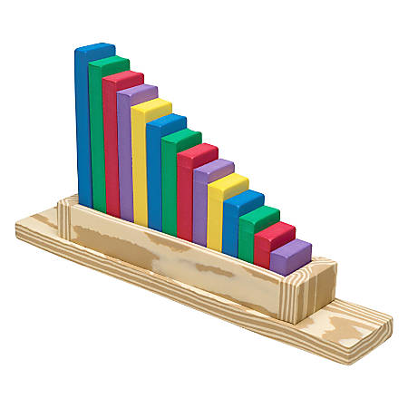 Creativity Street Wonderfoam Sorting Staircase - Theme/Subject: Learning - Skill Learning: Sorting, Color Identification, Eye-hand Coordination, Fine Motor, Counting, Comprehension, Shape - 15 Pieces