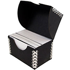 JAM Paper Business Card Box 2