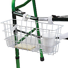 HealthSmart Walker Basket With Tray And