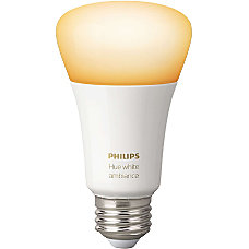 Philips hue White Ambiance A19 LED