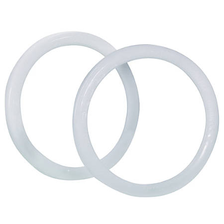 """Office Depot® Brand Locking Rings For Paint Cans, Gallon Size, White, 6 7/8"""" x 6 7/8"""", Pack Of 100"""