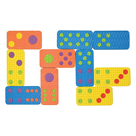 Creativity Street Dominoes Set - Skill Learning: Matching, Counting - 28 Pieces