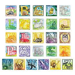ChenilleKraft Alphabet Embossed Paper Set 6