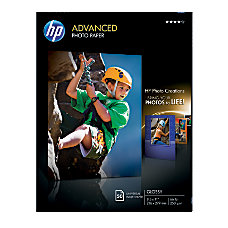HP Advanced Photo Paper 8 12