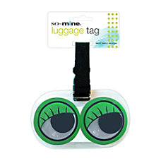 So Mine Googly Eye Luggage Tag