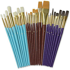 Creativity Street Deluxe Brush Assortment 24