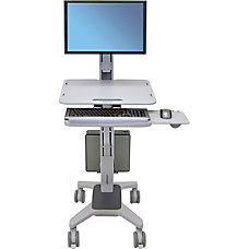 Ergotron WorkFit C Sit Stand Workstation