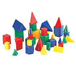 Learning Resources Mini GeoSolids Grades K