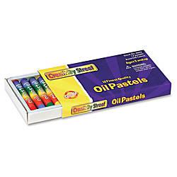 ChenilleKraft 12 piece Oil Pastels Set